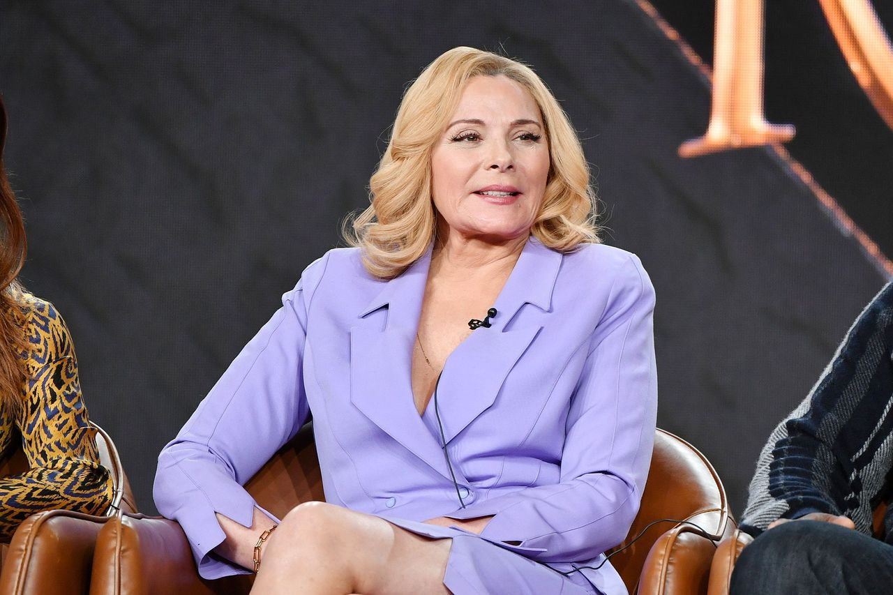 Kim Cattrall during the Fox segment of the 2020 Winter TCA Press Tour at The Langham Huntington, Pasadena on January 07, 2020 in Pasadena, California. | Source: Getty Images