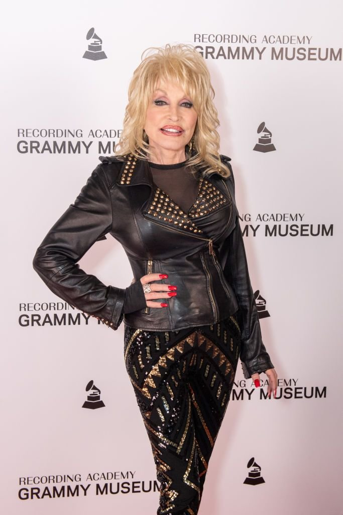 Dolly Parton at the Dolly Parton Town Hall Program at The GRAMMY Museum on February 06, 2019 in Los Angeles, California | Photo: Getty Images