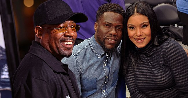 Kevin Hart with Pregnant Wife Eniko Pay Tribute to Martin Lawrence in a Funny Video