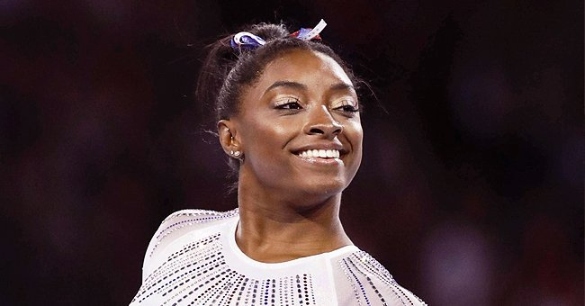 Simone Biles Poses with Cool Makeup as She Flashes Her Awesome White Smile — Fans Are in Awe