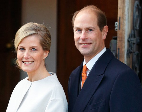 Earl and Countess of Wessex visit the Tomorrow's People Social Enterprises for the Countess's 50th birthday. | Photo: Getty Images