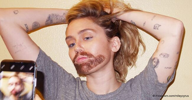 Miley Cyrus Turns Herself into a Bearded Man to Go 'Undercover' to Meet Drag Queens