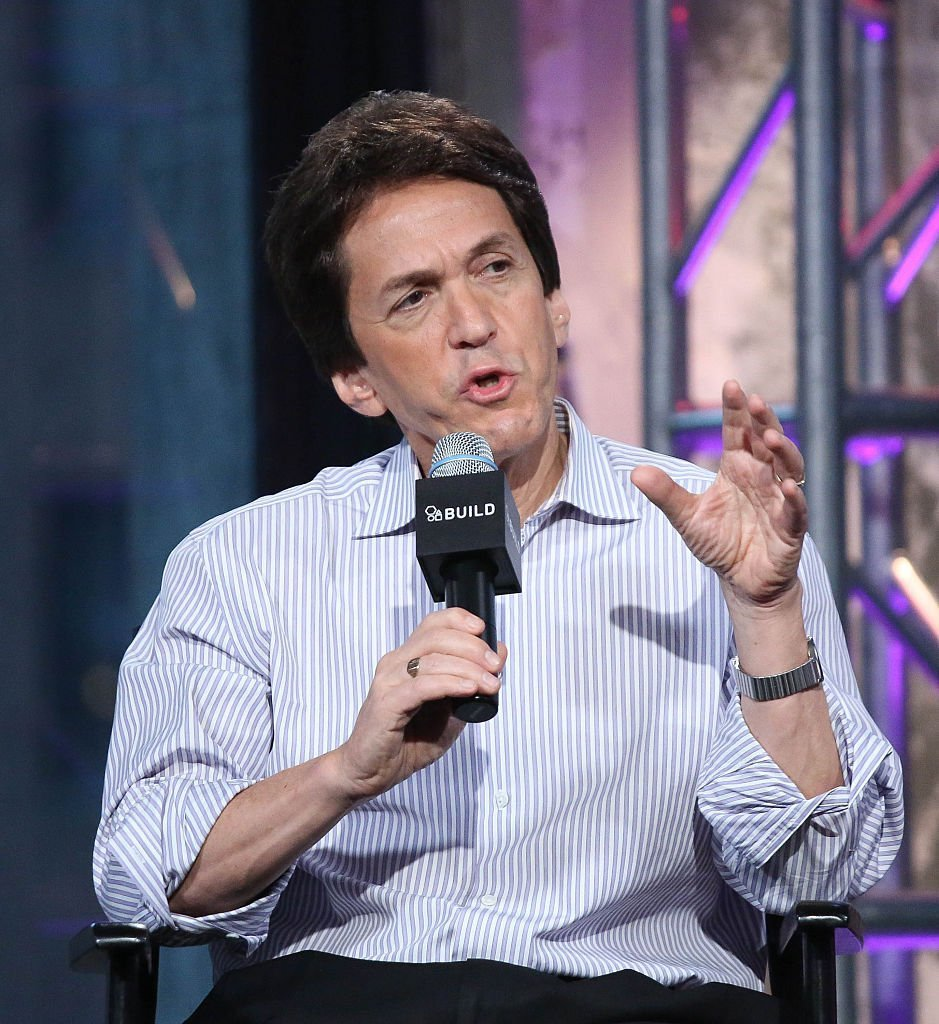 "Mitch Albom attends AOL BUILD Presents: Mitch Albom Discusses His Book ""The Magic Strings Of Frankie Presto"" at AOL Studios In New York 