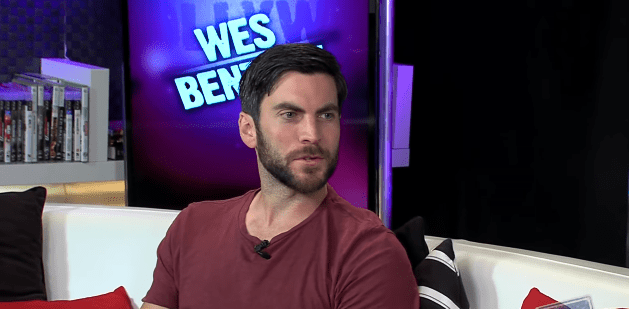 """Wes Bentley during an interview with """"Young Hollywood"""" in July 2013 