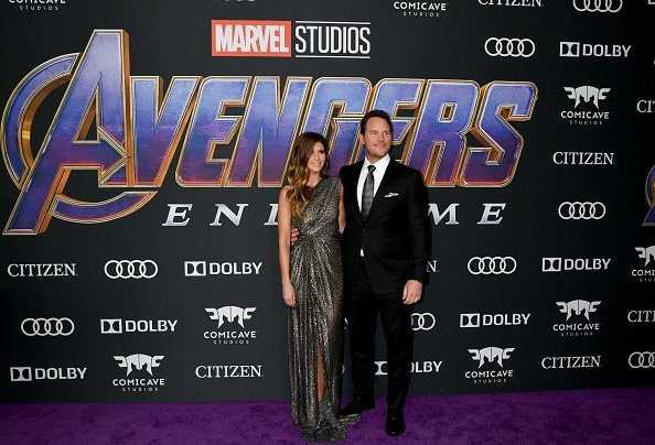 Katherine Schwarzenegger and Chris Pratt at the World Premiere of Avengers: Endgame | Photo: Getty Images
