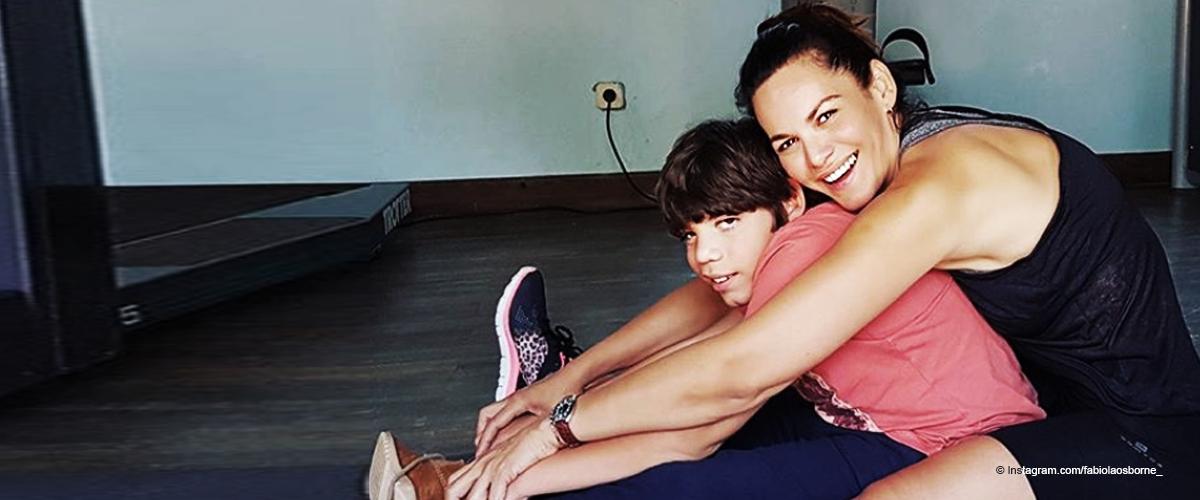 Fabiola Martínez sobre la salud de su hijo con Bertin Osborne: 'Ha sido muy duro de dolor'