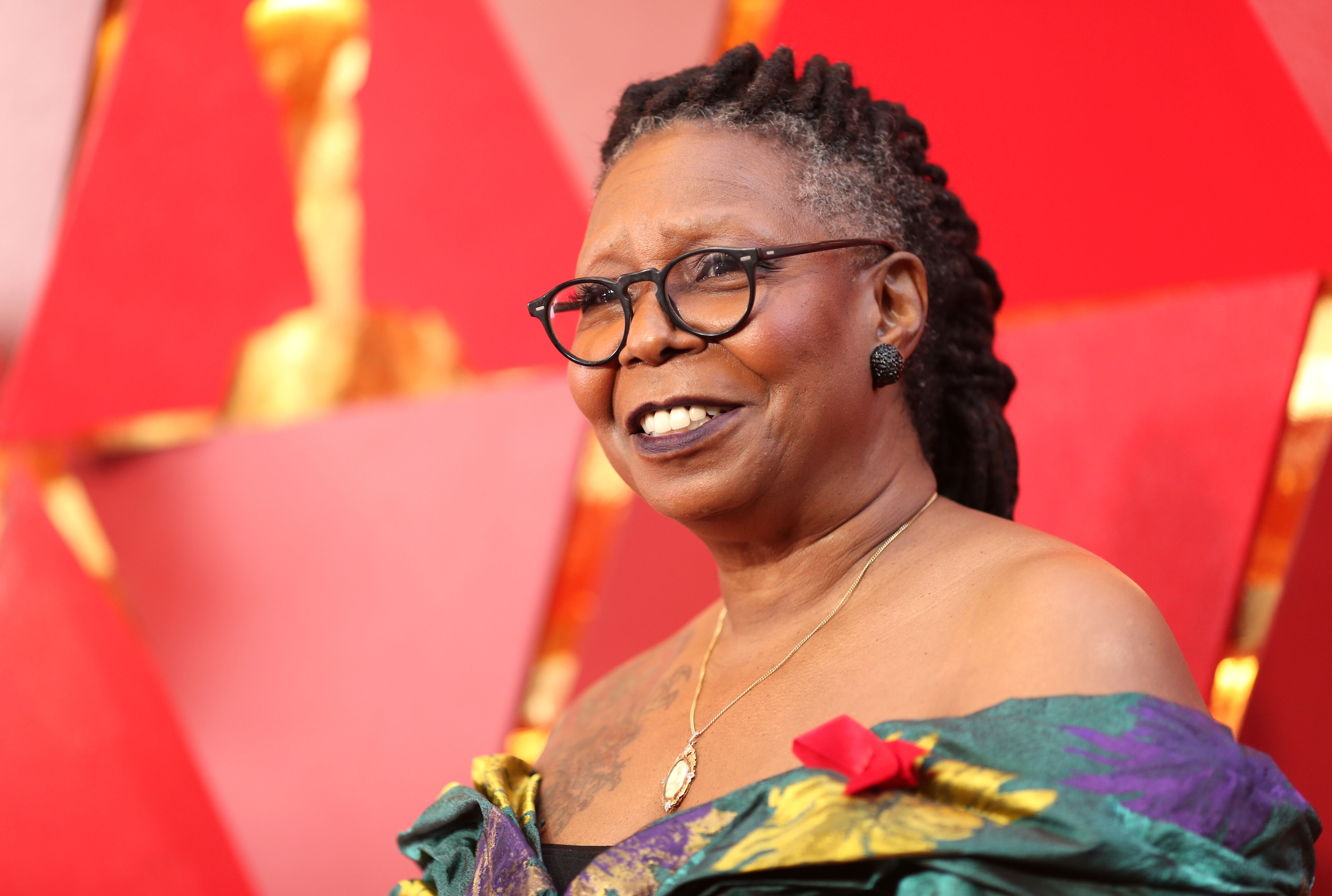 """Whoopi Goldberg attends the 90th Annual Academy Awards at Hollywood & Highland Center in Hollywood, California 
