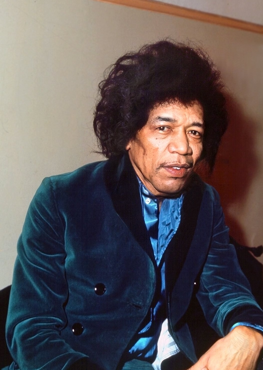 Jimi Hendrix as he might have looked in his 70s | Source: Getty Images