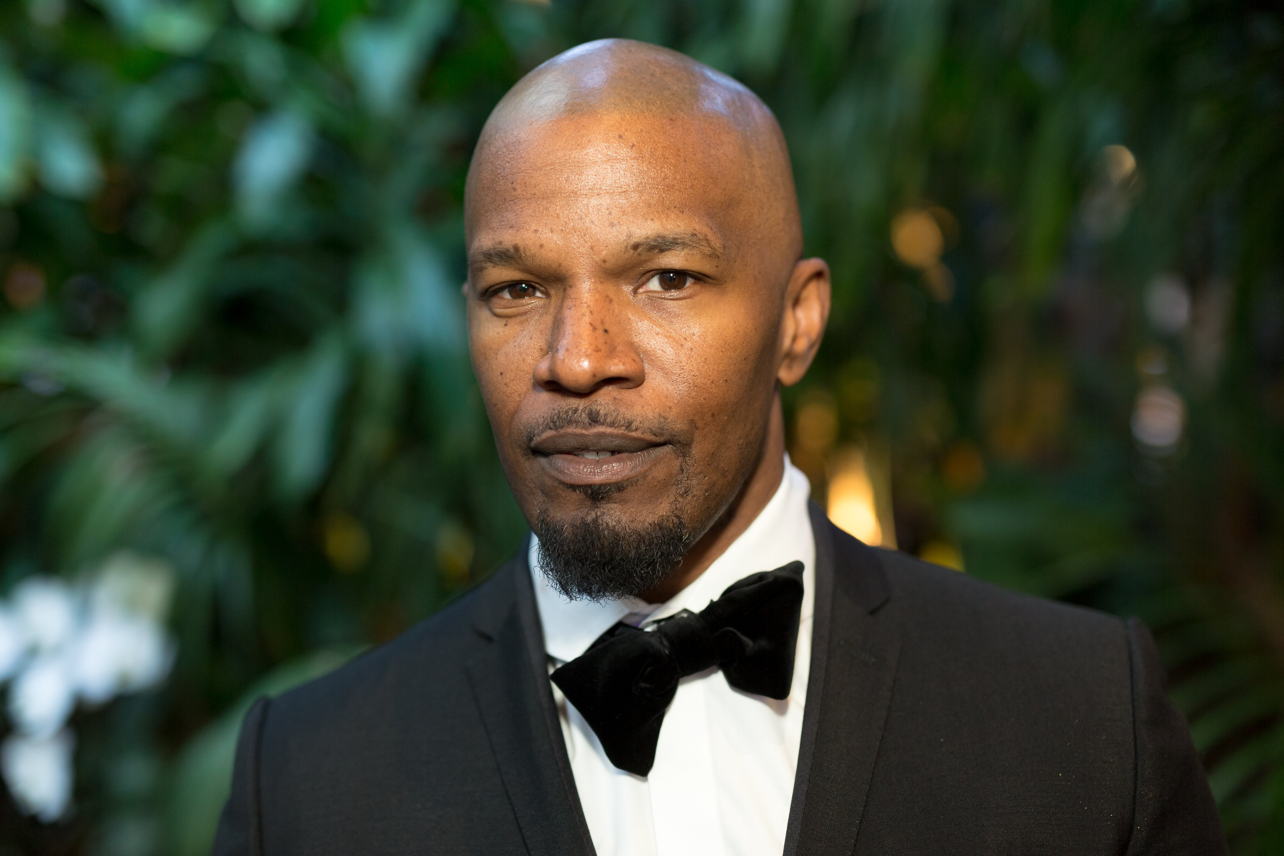 Jamie Foxx pictured at the Mercedez-Benz USA's Official Awards Viewing Party in Beverly Hills on March 4, 2018 in Los Angeles, California.   Source: Getty Images