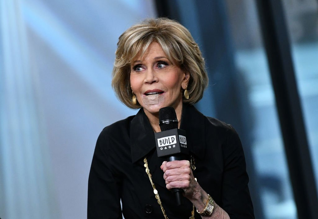"Actress Jane Fonda visits Build Series to discuss Season 4 of Netflix's ""Grace and Frankie"" at Build Studio 