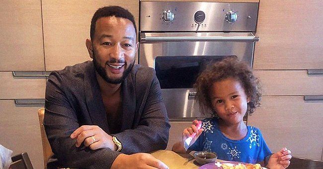 John Legend Steals Hearts Posing with Cute Daughter Luna as He Calls Her His Valentine