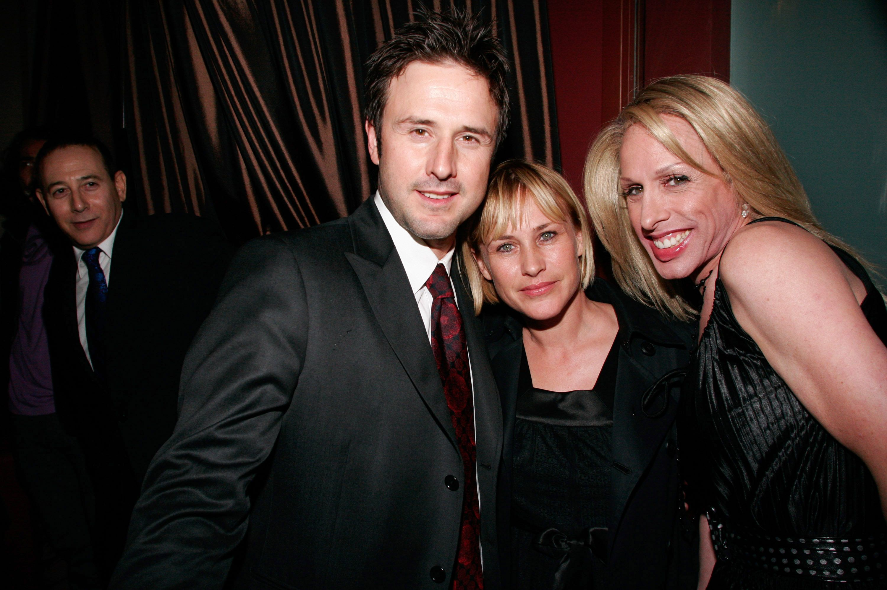 Alexis Arquette with siblings David Arquette, and Patricia Arquette   Source: Getty Images