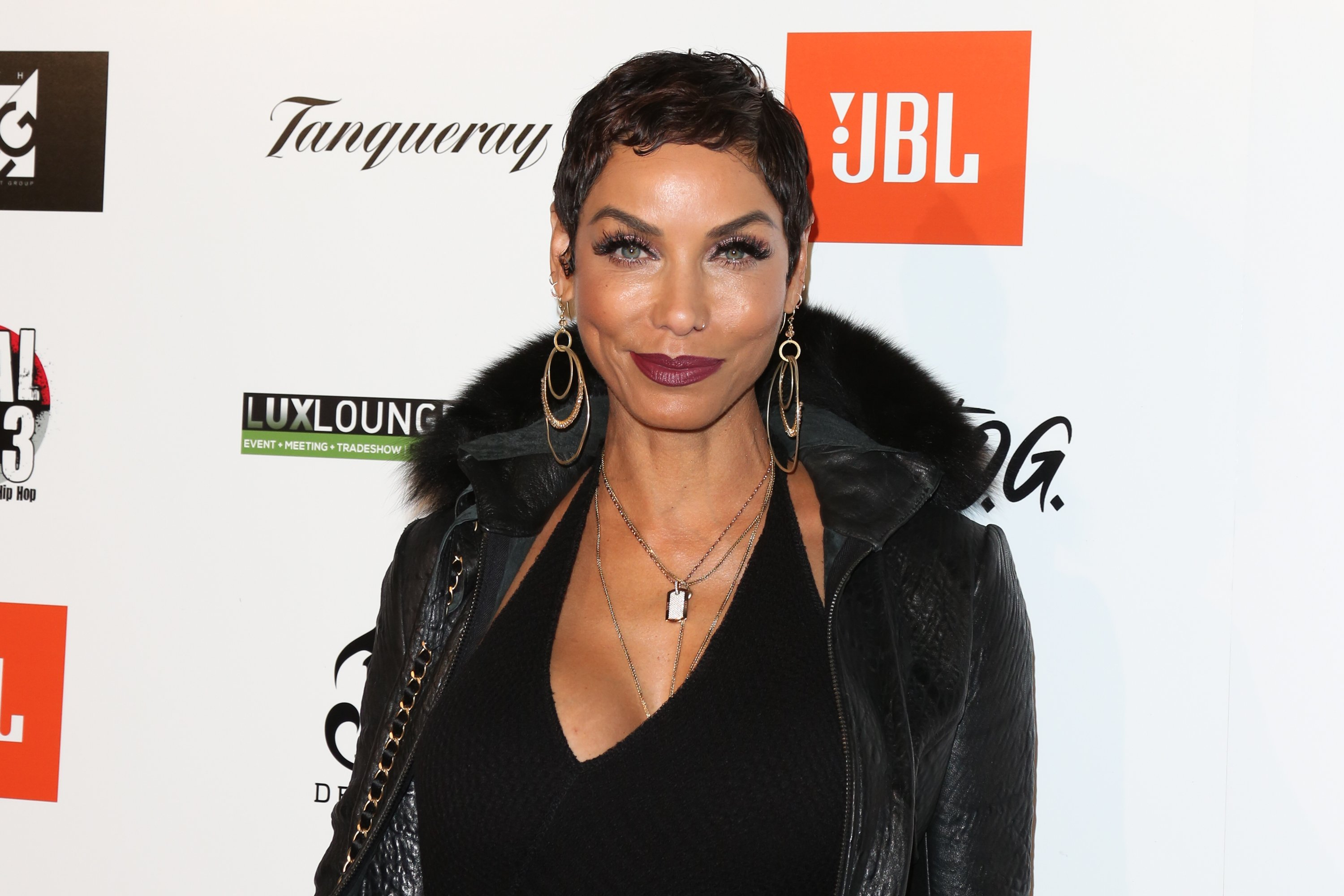 Nicole Murphy at Kenny Smith's annual All-Star bash presented by JBL at Paramount Studios on February 16, 2018 in Hollywood, California.| Source: Getty Images