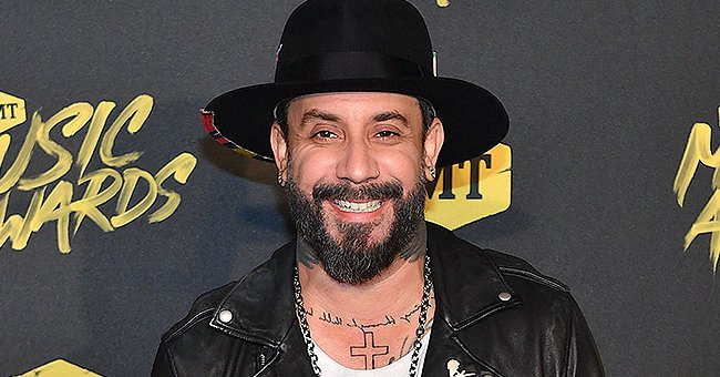 AJ McLean from Backstreet Boys Shows off His Incredible Abs as He Is Set to Join DWTS