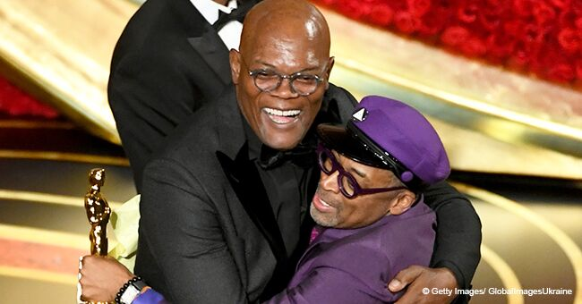 Spike Lee Jumps into Samuel L. Jackson's Arms after Winning First-Ever Oscar for 'BlacKkKlansman'