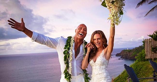 Dwayne Johnson Marries Longtime Girlfriend Lauren Hashian in Hawaiian Wedding (Photos)
