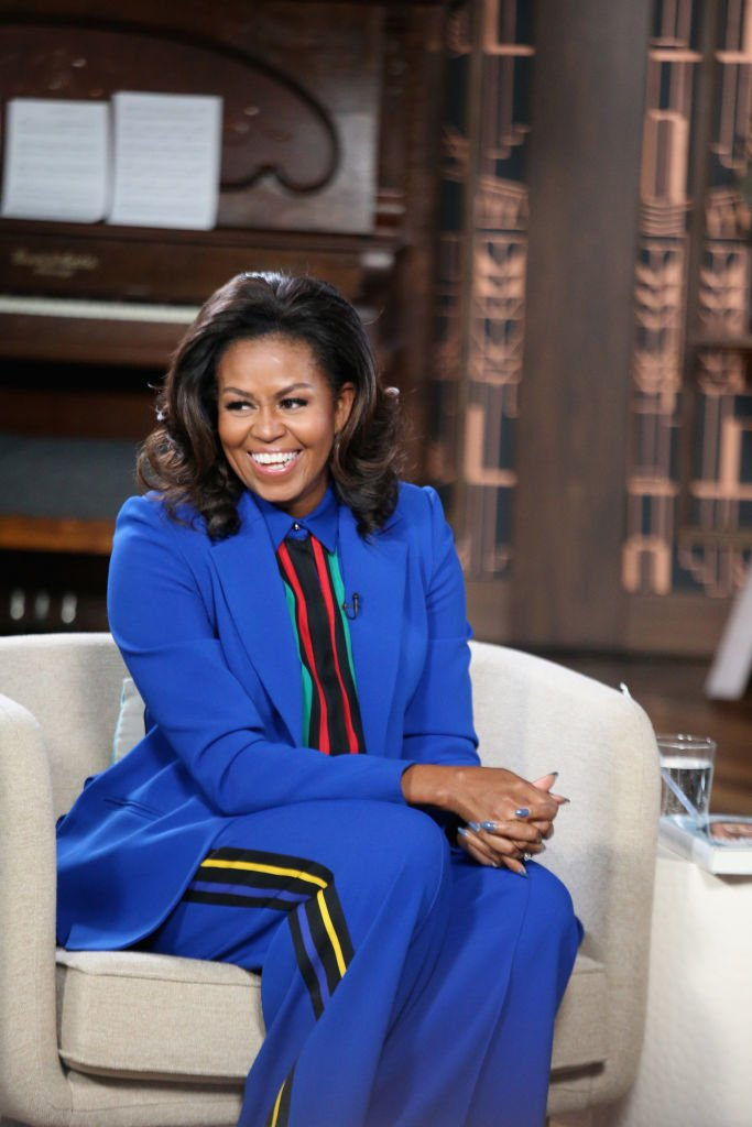 Michelle Obama at BookTube at YouTube Space Austin on February 28, 2019 in Austin, Texas. | Source: Getty Images