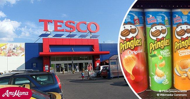 Femme enceinte emprisonnée pour deux mois pour avoir ouvert une boîte de Pringles dans un Tesco