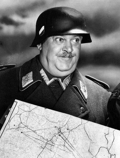 """John Banner as Sergeant Schultz from the television comedy """"Hogan's Heroes."""" 