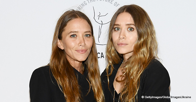 Mary-Kate and Ashley Olsen Make a Rare Public Appearance Rocking Matching Black Suits