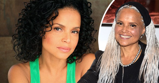 A photo of Victoria Rowell when she was younger and older   Photo: Getty Images