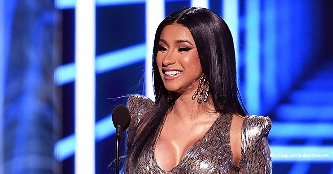 Cardi B Prepares to Celebrate Her 28th Birthday as She Shows off a Huge Decorated Cake (Video)