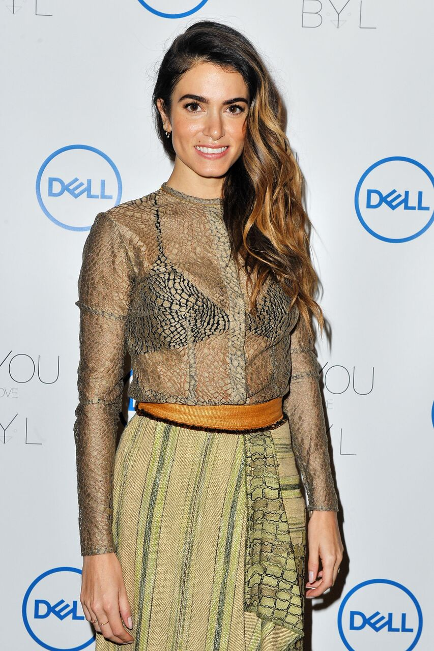Nikki Reed and Dell announce jewelry line made from recycled tech at CES. | Source: Getty Images