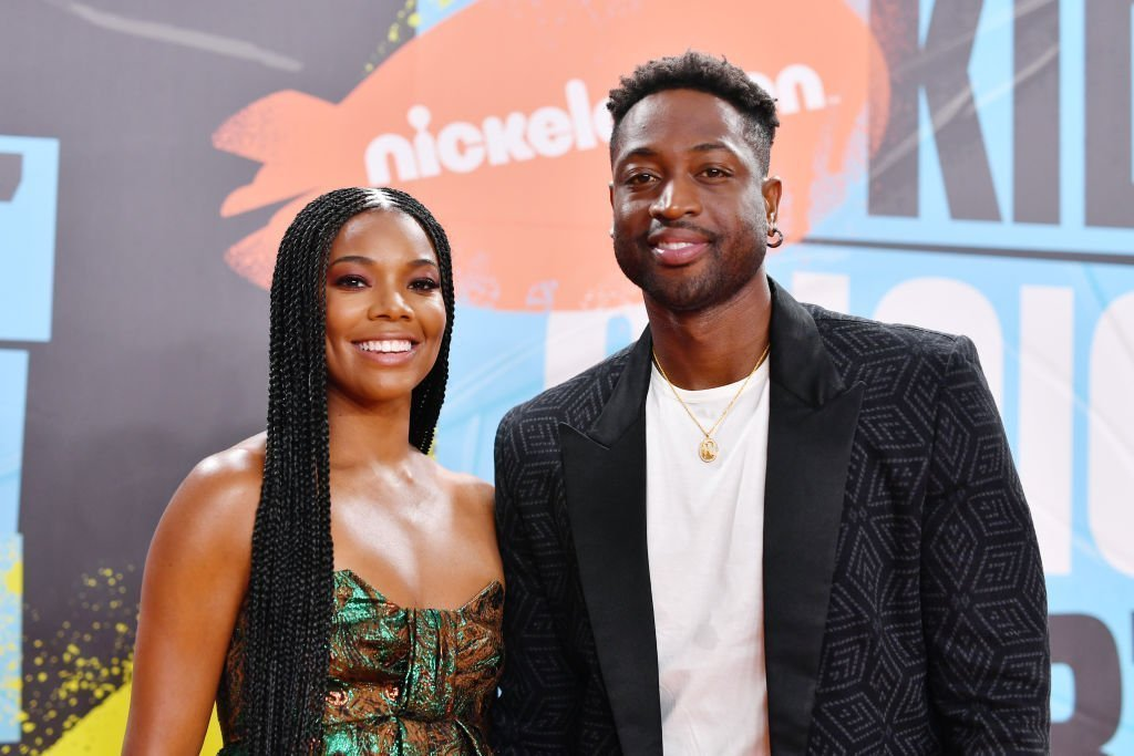 Gabrielle Union and Dwyane Wade attend Nickelodeon Kids' Choice Sports 2019 at Barker Hangar on July 11, 2019.  | Photo: Getty Images
