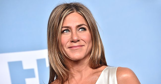 Jennifer Aniston, 51, Looked Gorgeous at the 2020 Emmys in a Classic Black Slip-Like Gown