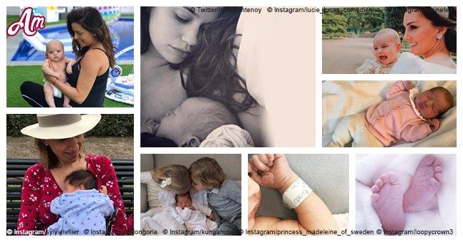 Enfants des célébrités: les photos les plus mignonnes de ceux nés en 2018