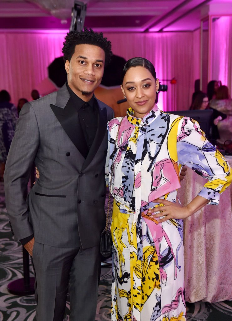 Cory Hardrict and Tia Mowry attend the ESSENCE Black Women in Hollywood Luncheon on February 06, 2020, in Beverly Hills, California | Source: Aaron J. Thornton/Getty Images for ESSENCE