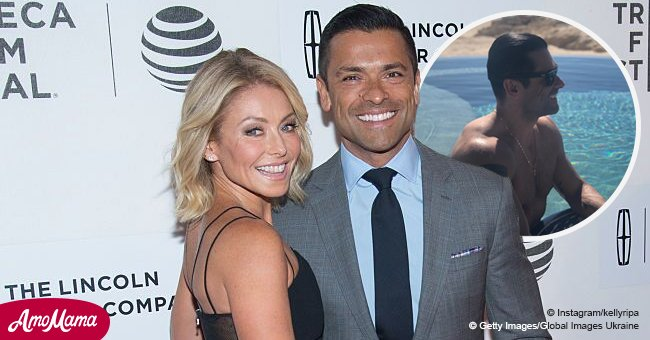 'Hot daddy alert!' Kelly Ripa shares sexy photo of her husband Mark Consuelos