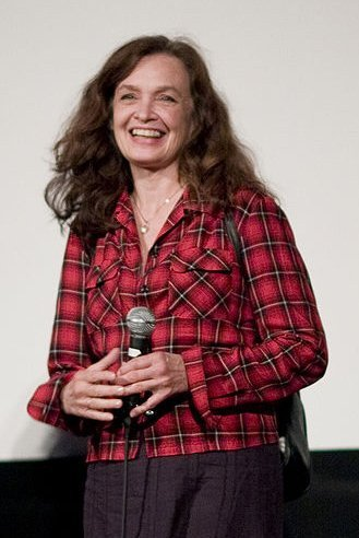 "Deborah Van Valkenburgh at the Alamo Drafthouse screening of ""Streets of Fire."" 