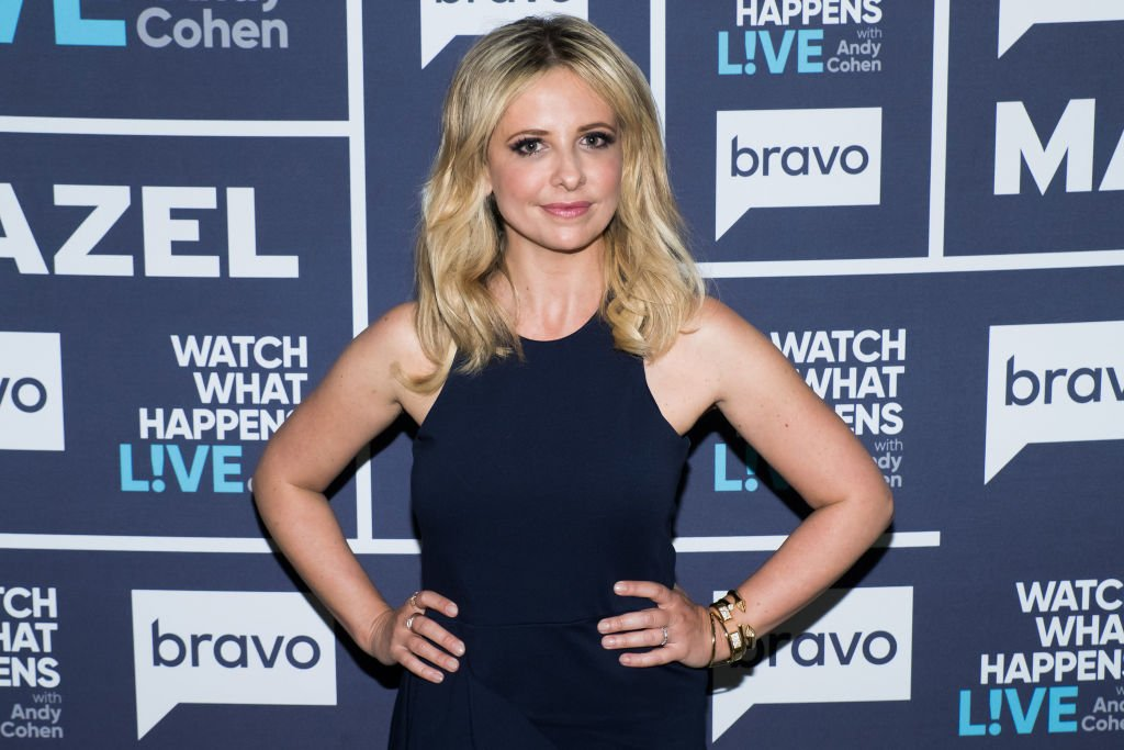 """Sarah Michelle Gellar on """"What What Happens Live"""" with Andy Cohen 