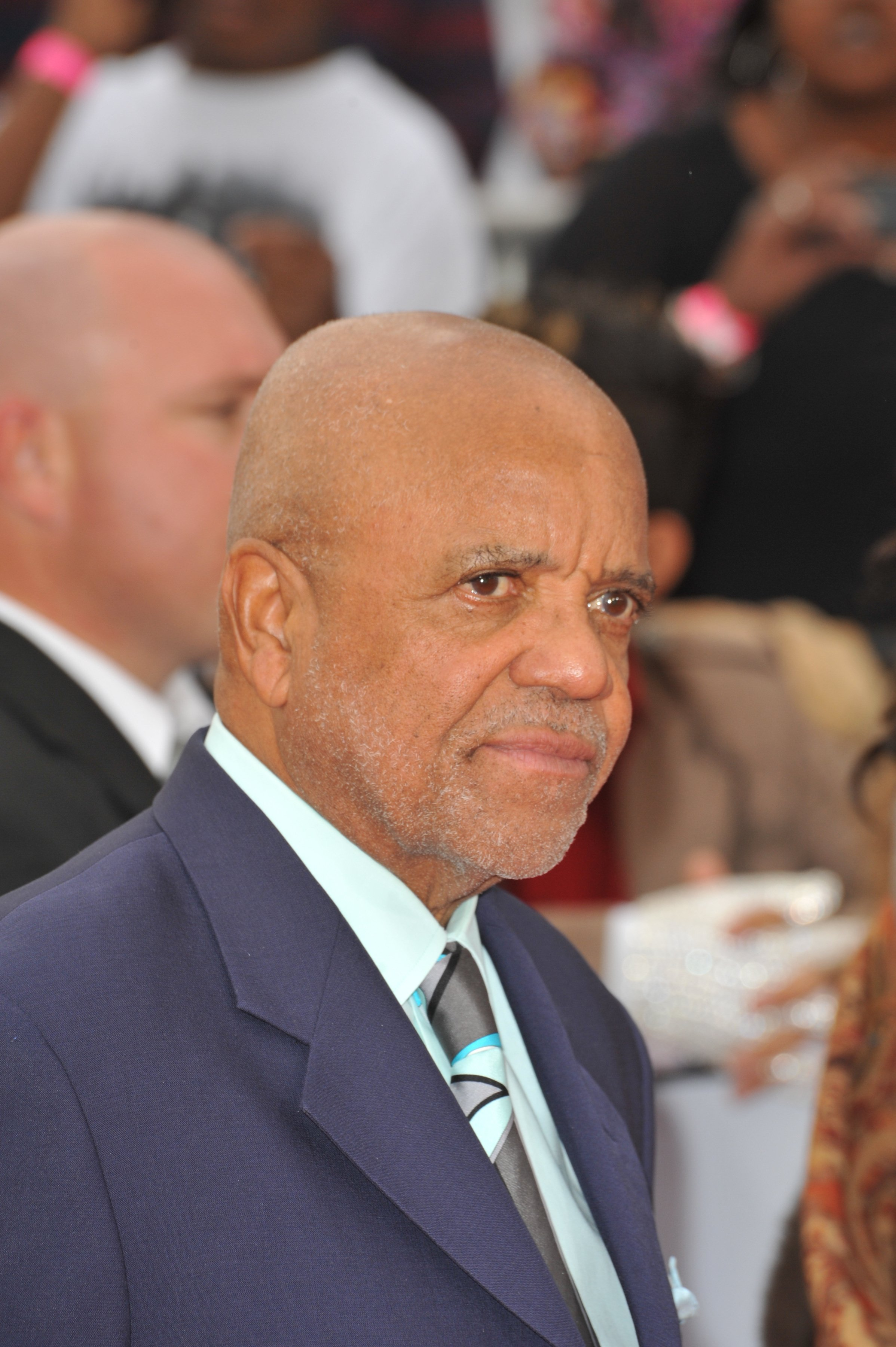 "Berry Gordy at the premiere of Michael Jackson's ""This Is It"". October, 2009. 