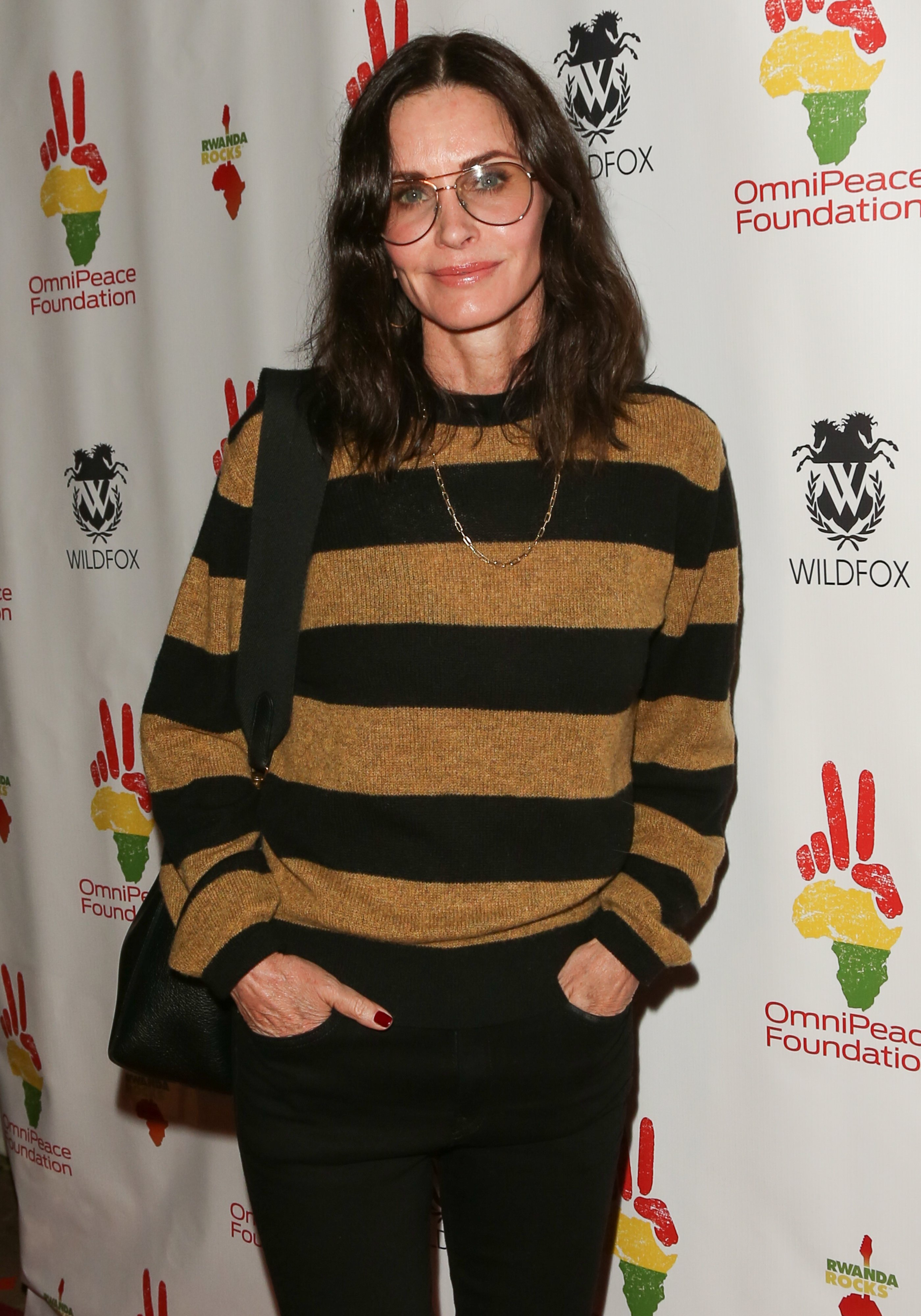 "Courteney Cox attends the 2nd Annual Gala ""Rwanda Rocks"" Charity Event on November 04, 2019