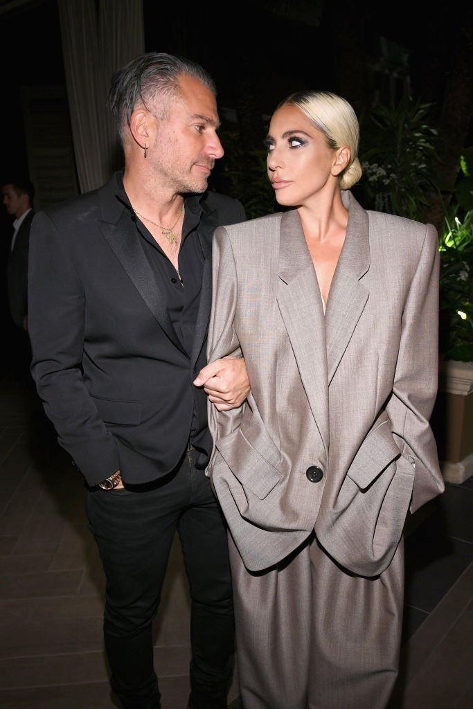 Christian Carino and Lady Gaga attend ELLE's 25th Annual Women In Hollywood Celebration presented by L'Oreal Paris, Hearts On Fire and CALVIN KLEIN at Four Seasons Hotel Los Angeles at Beverly Hills | Photo: Getty Images