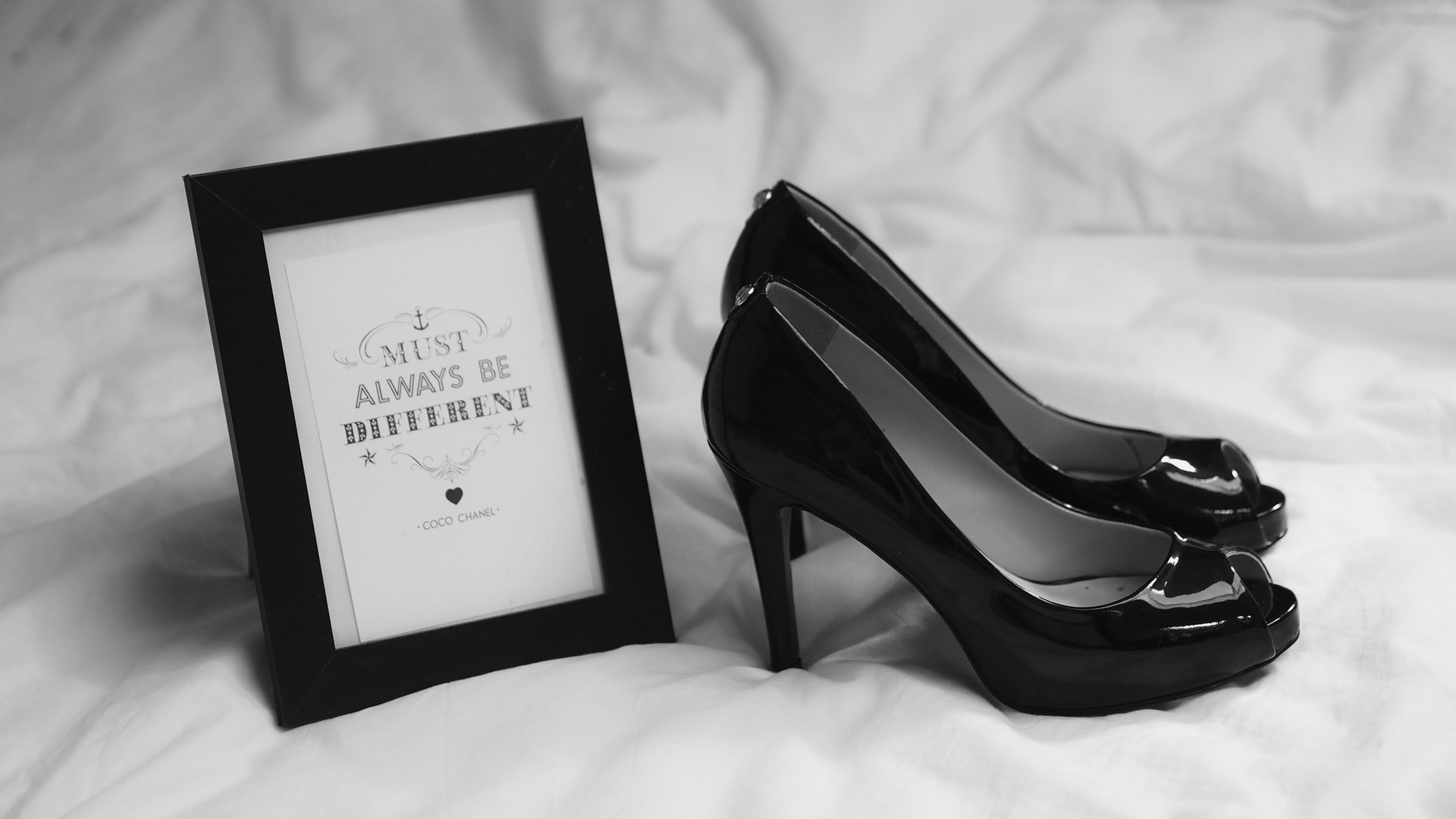 Garrett got her shoes, although he knew she couldn't afford anything there.   Source: Unsplash
