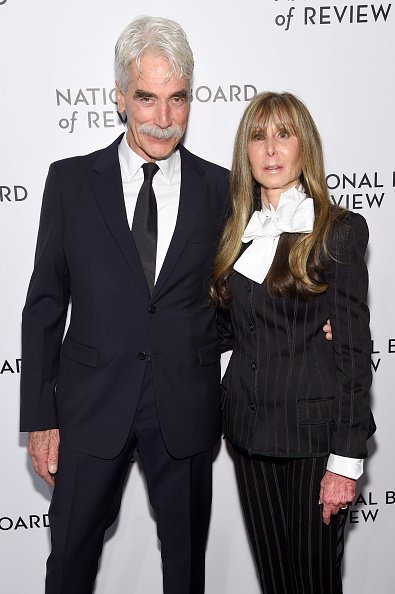 Sam Elliott and National Board of Review President Annie Schulhof attends The National Board of Review Annual Awards Gala on January 8, 2019 in New York City.| Photo: Getty Images.