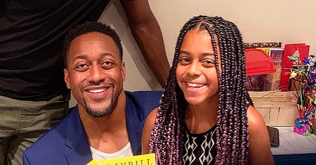 Jaleel White Shares Sweet Photo of Daughter Samaya Eating Pizza as a Reward for Good Grades & Behavior