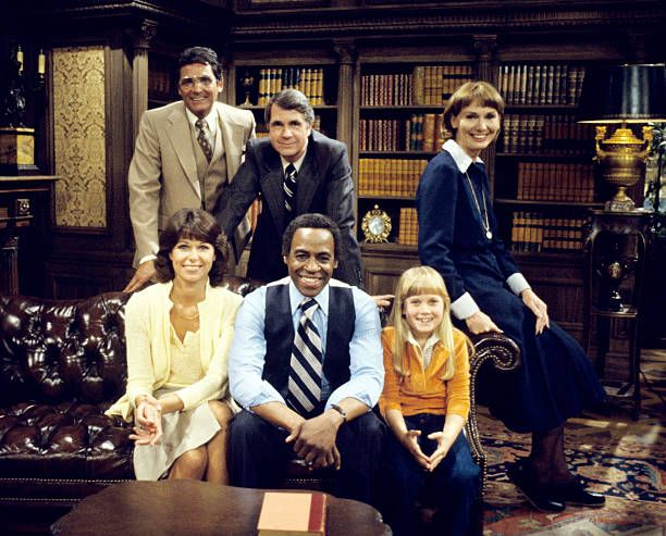 """Benson"" pilot episode with Robert Guillaume, James Noble, Inga Swenson, Caroline McWilliams, David Hedison, September 13, 1979. 