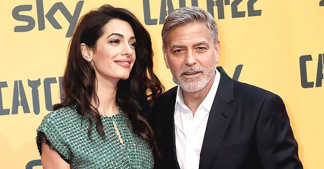 George Clooney Pretended to Talk to Santa Claus to Get His Kids to Behave