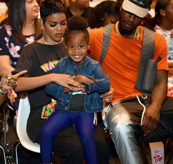"Teyana Taylor, Iman Shumpert and Iman Tayla Shumpert Jr attend ""You Be There"" Screening at The Gathering Spot 