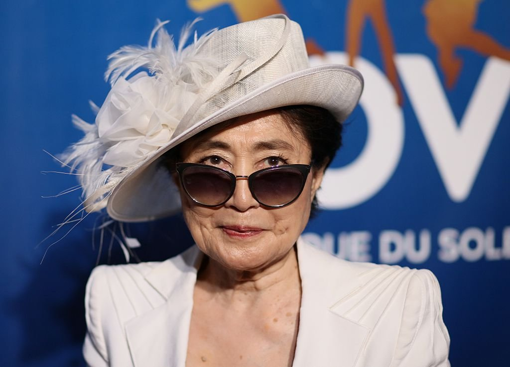 Yoko Ono assiste à la célébration du 10e anniversaire de `` The Beatles LOVE by Cirque du Soleil '' au Mirage Hotel & Casino le 14 juillet 2016 à Las Vegas, Nevada. | Photo : Getty Images