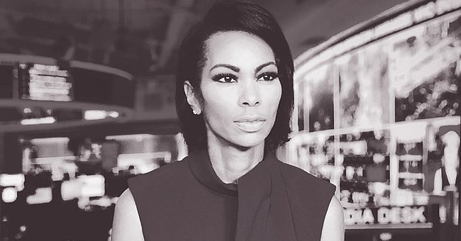 Here's Harris Faulkner's Entry to the Black and White Photo Challenge — See Her Inspiring Message