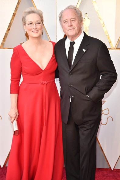 Meryl Streep and Don Gummer at Hollywood & Highland Center on March 4, 2018 in Hollywood, California. | Photo: Getty Images