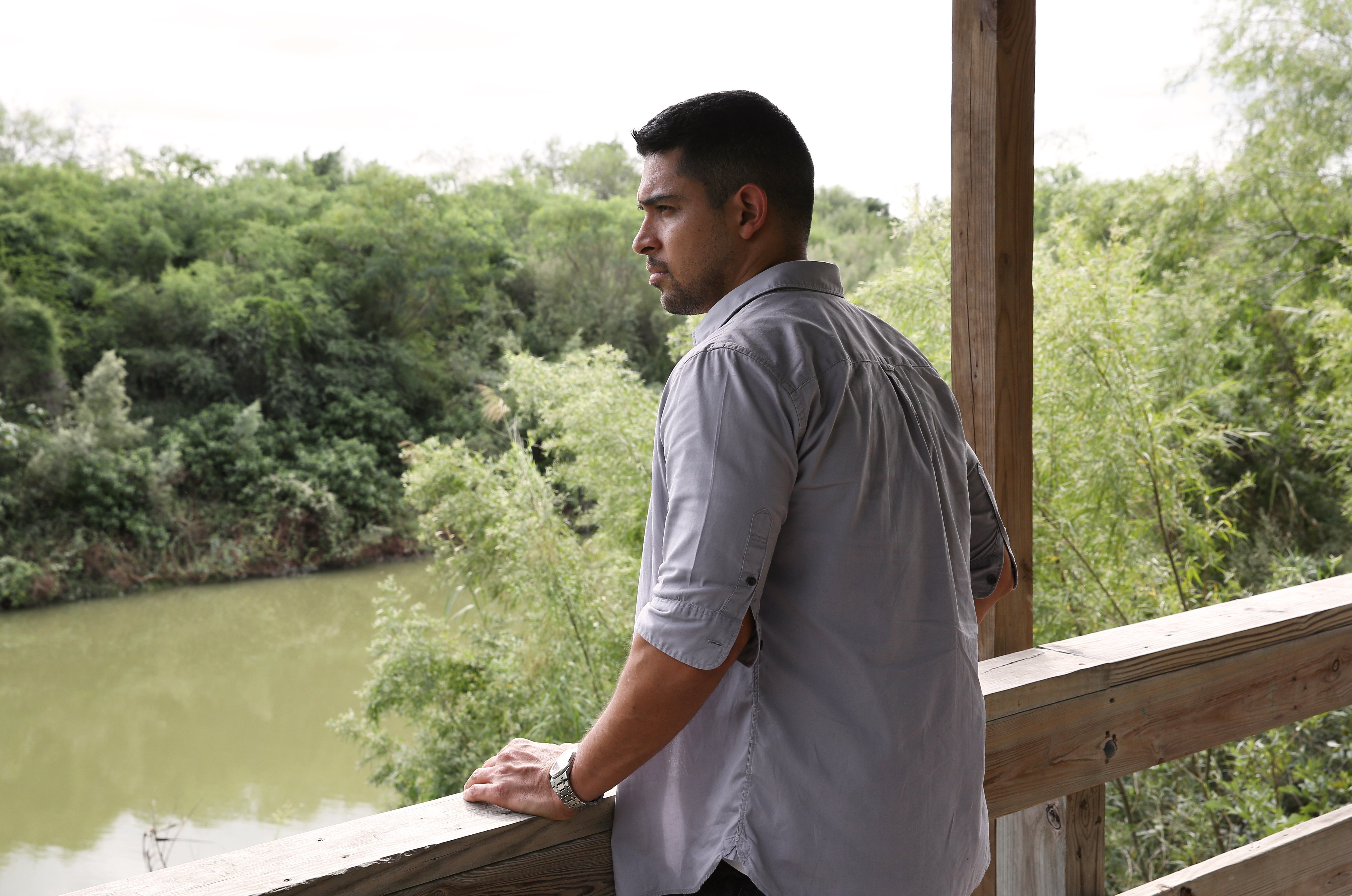 Wilmer Valderrama visits the US-Mexico border overlooking the Rio Grande | Source: Getty Images
