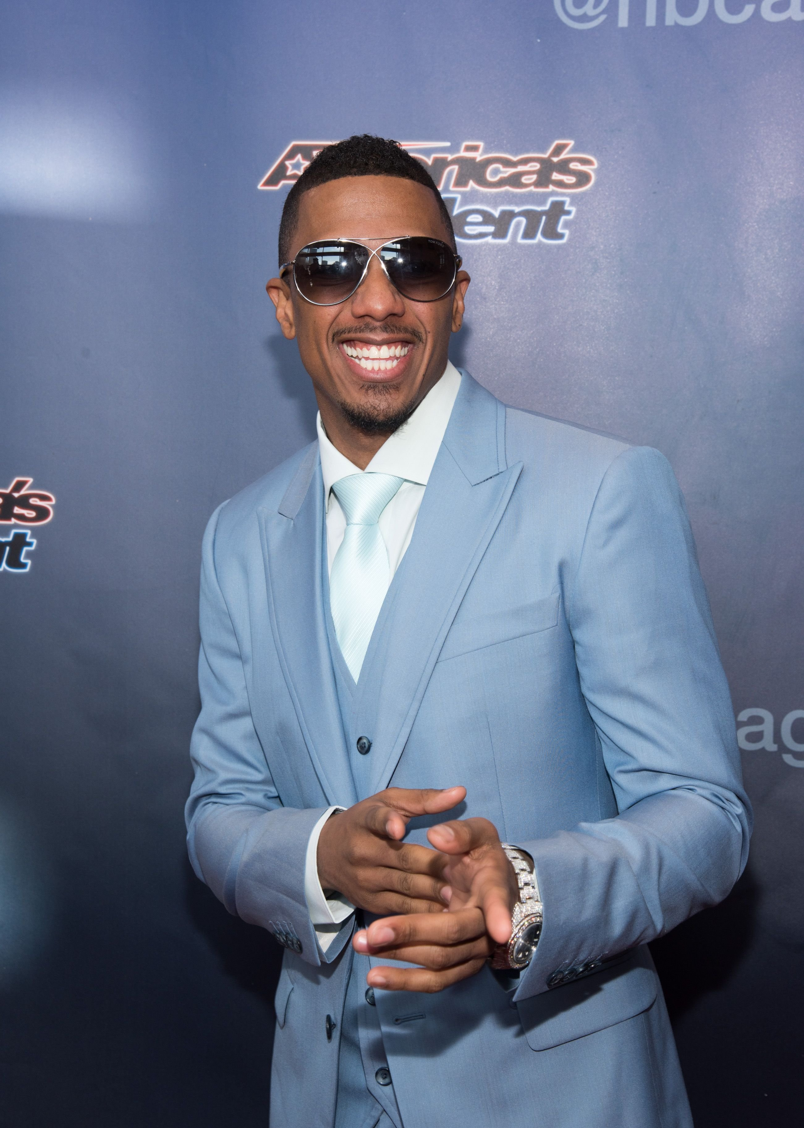 """Nick Cannon at the """"America's Got Talent"""" Season 10 Red Carpet Event a on March 2, 2015 in Newark. │Photo: Getty Images"""