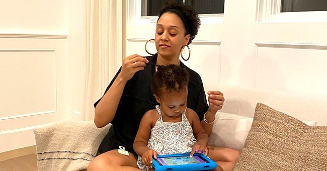 'Sister, Sister' Star Tia Mowry's Daughter Cairo Flashes Smile in a Cute Photo