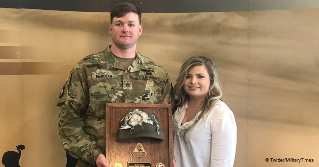 Army Staff Sergeant Who Survived Shot to the Head Finally Reunites with Helmet That Saved His Life
